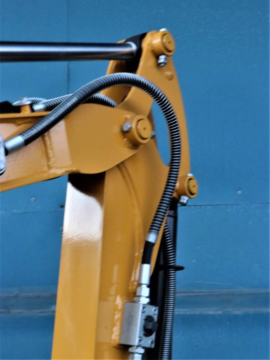 ミニショベル 新品 YE15T-2 ヤンマーディーゼル 3気筒 倍速 送料無料 ブレカー配管 25%オフ 家庭菜園 災害対策 災害対策など_画像5