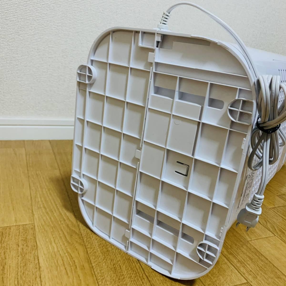 美品! アイリスオーヤマ IJD-I50 衣類乾燥除湿機 スピード乾燥 サーキュレーター機能付 デシカント式 ホワイト 扇風機 衣類乾燥機 送風_画像9