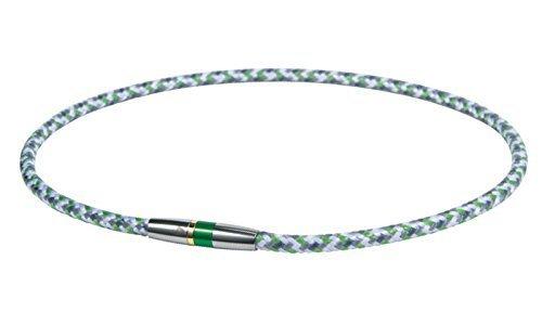 新品特価/グリーン 50cm ファイテン(phiten) ネックレス RAKUWA ネックX50 ハイエンドIII 50cm_画像1