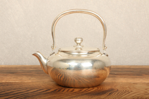 『新』純銀 急須 煎茶道具