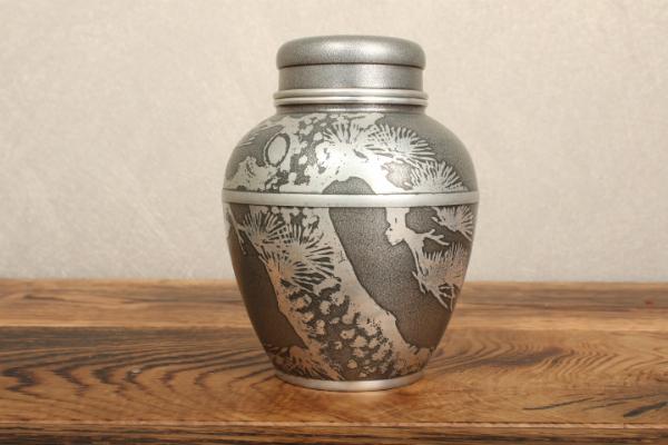 『新』錫製 茶壷 煎茶道具_画像1