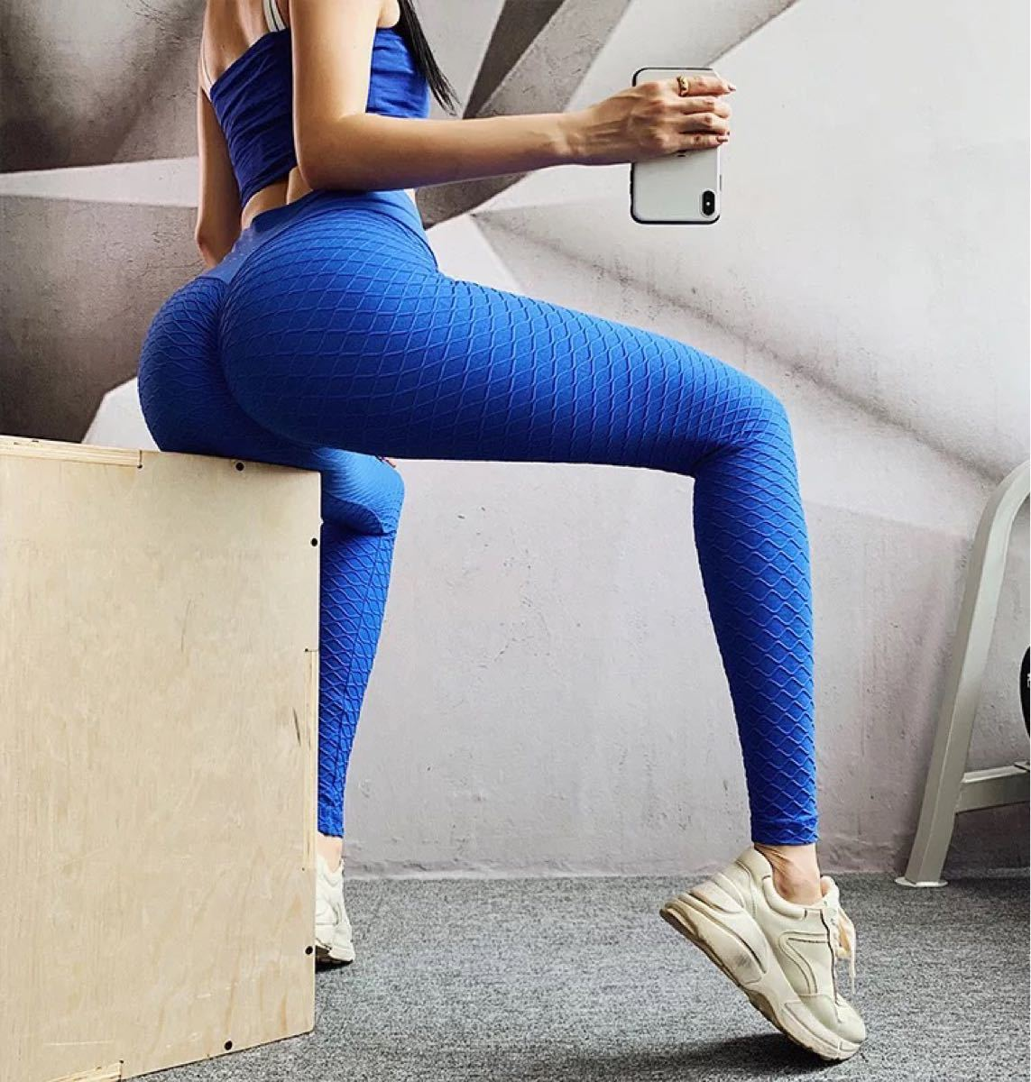 ヨガ トレーニング スポーツ ウェア レギンス スパッツ パンツ レディース M 美脚 ヨガウェア 美尻