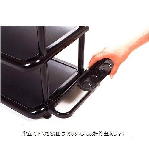 ブラック ライクイット(like-it)靴収納シューズラック 5段幅35.5x奥31x高87cmブラック日本製_画像3