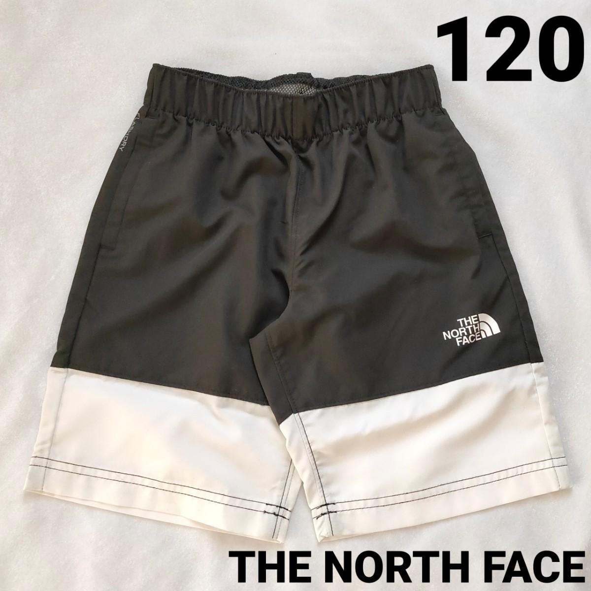 THE NORTH FACE  ザノースフェイス  ハーフパンツ  ショートパンツ 水着  男子 新品 白黒 120