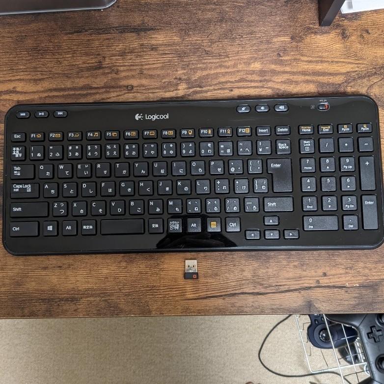 ロジクール ワイヤレスキーボード K360 薄型
