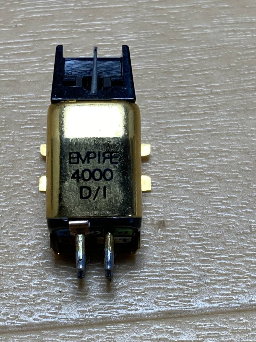 程度良 EMPIRE 4000 D/I エンパイア MI型カートリッジ レコード針_画像5