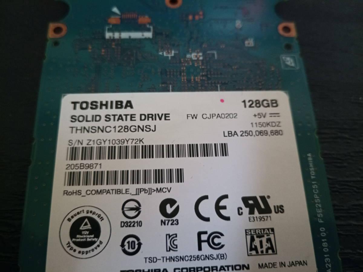 TOSHIBA THNSNC128GNSJ 128GB SSD