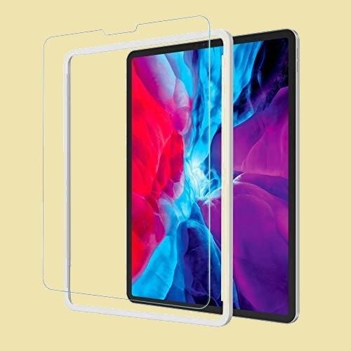 ラスト1点 新品 ガラスフィルム NIMASO 4-WD フイルム ガイド枠付き iPad Pro 12.9 (2021 / 2020 / 2018) 用 強化 ガラス 保護_画像1
