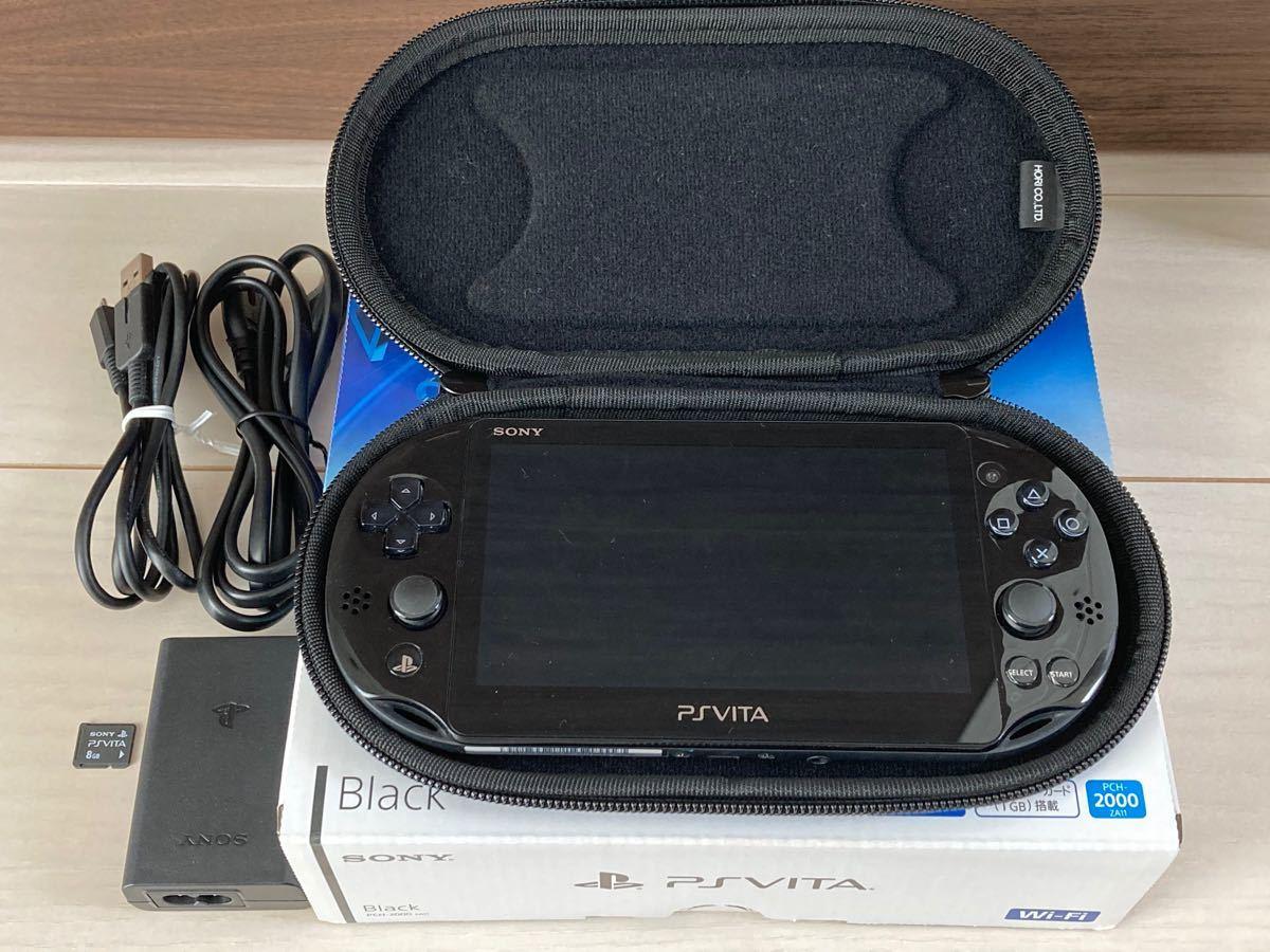 PlayStation Vita (PCH-2000シリーズ) Wi-Fiモデル ブラック PCH-2000ZA11