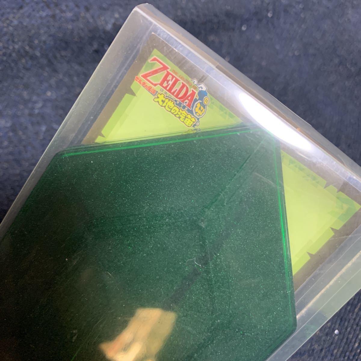 ゼルダの伝説 羽根ペン型 オリジナル透明タッチペン 大地の汽笛 ニンテンドーDS 任天堂 ルピー 型ケース入り_画像5