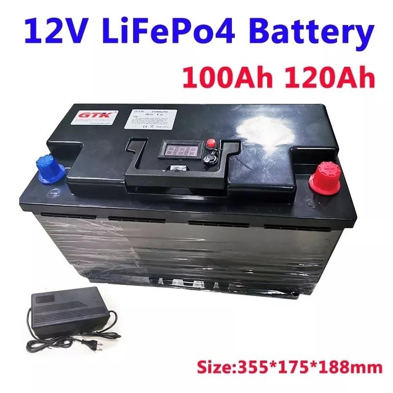 「12V 120Ahリン酸鉄リチウムイオンバッテリー LiFePO4 訳あり 説明文を読んでください」の画像2