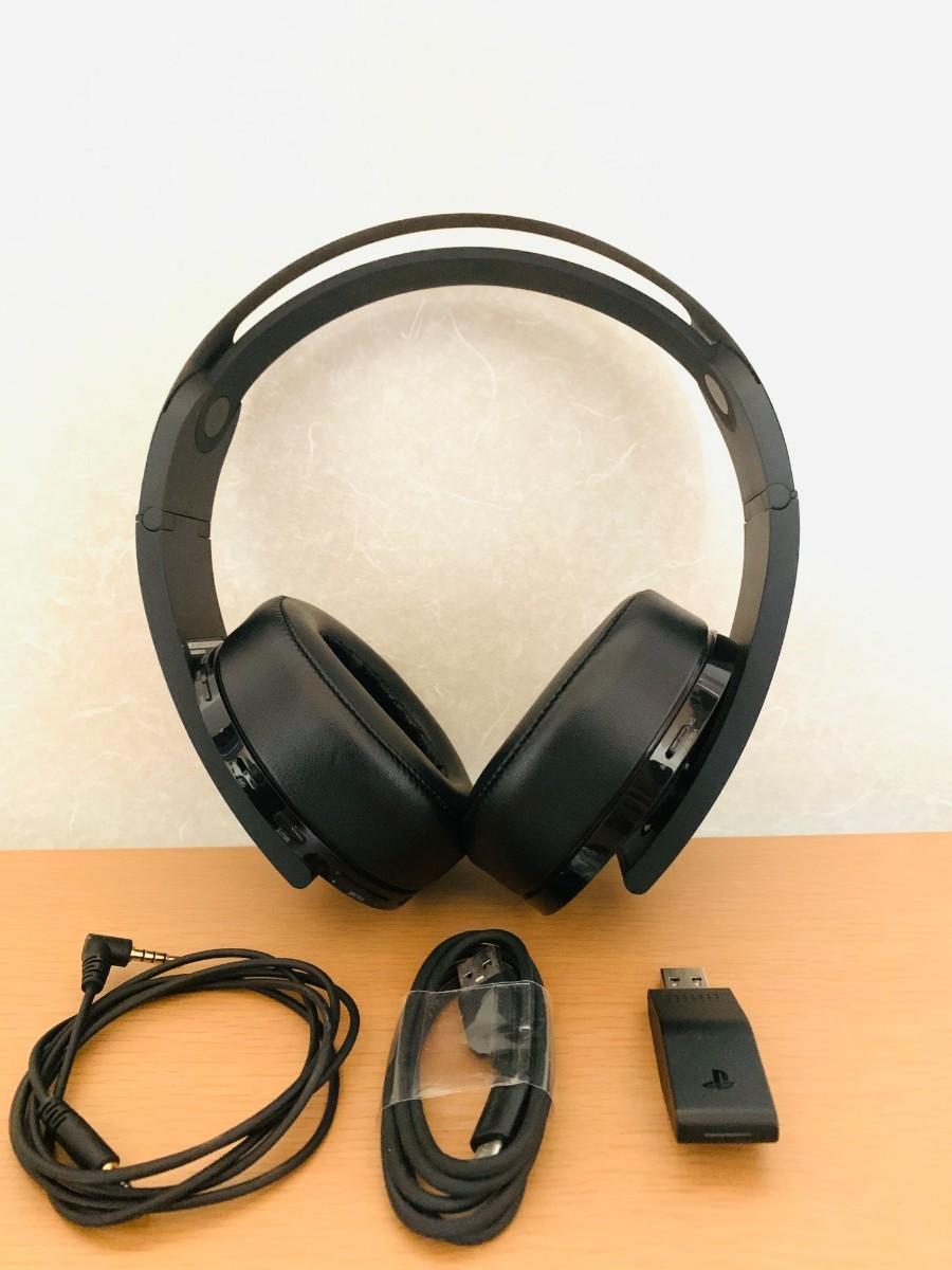 プレミアムワイヤレスサラウンドヘッドセット CUHJ-15005 ps4ゲーミングヘッドセット ゲーム用ヘッドホン 純正