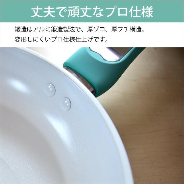 フライパン 焦げにくい IH対応 キッチン 北欧 コーティング KEVNHAUN 片手鍋