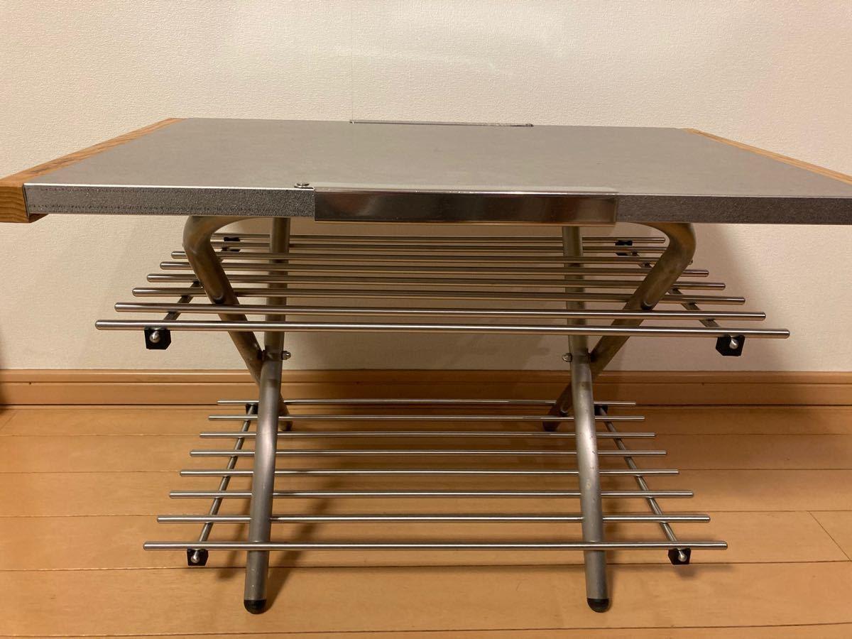 ユニフレーム  焚き火テーブル カスタムパーツ ステンレスラック2枚セット