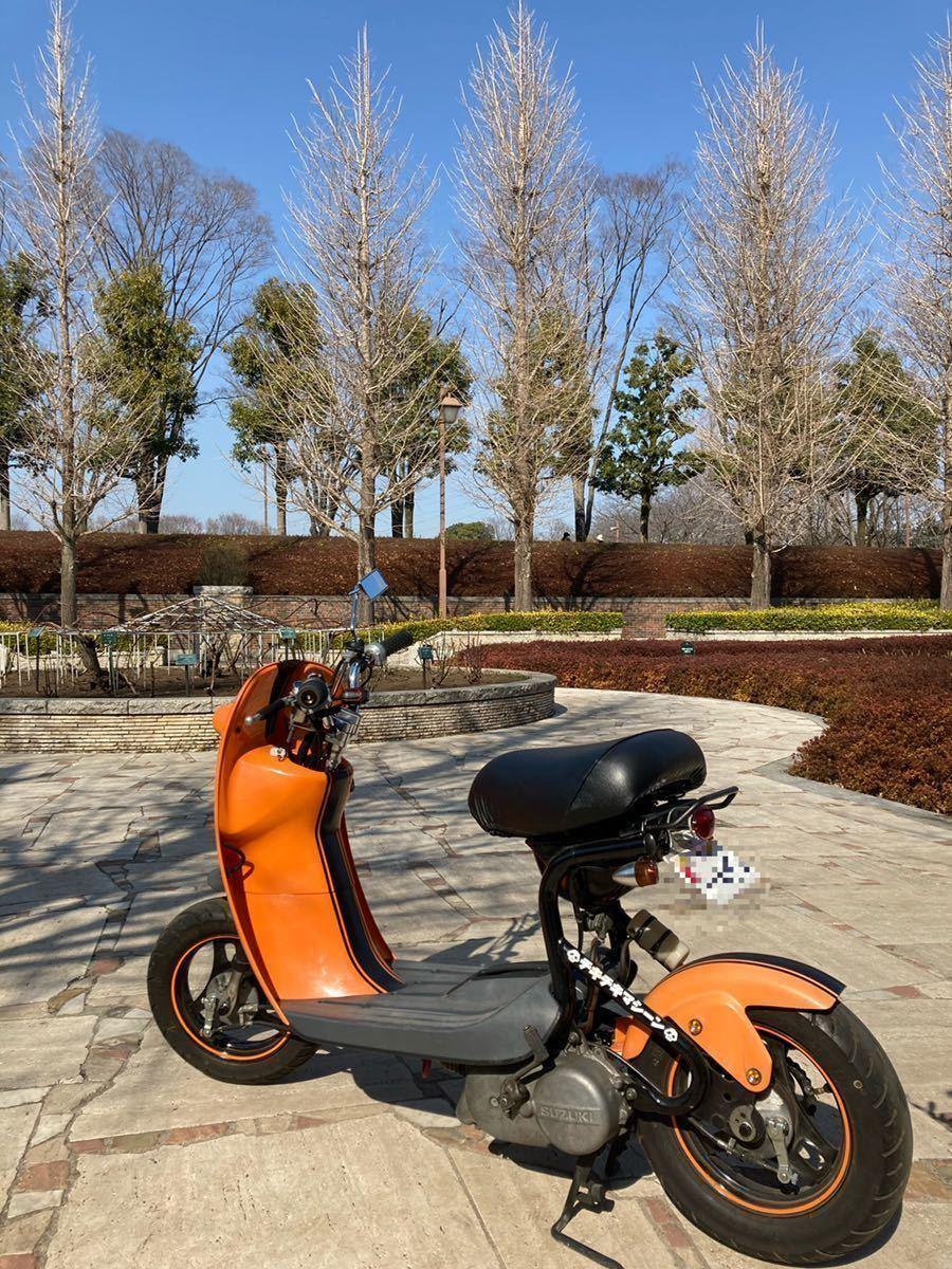 「SUZUKI ChoiNori カスタム チョイノリ 後期型 キックのみ 走行約4,900km」の画像1