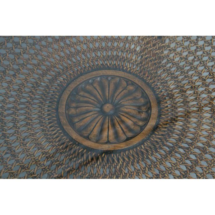#1584 ヨーロッパ市場在庫品 アンティーク家具 コーヒーテーブル 1920年代 フランス原産 ウォールナット製_画像3