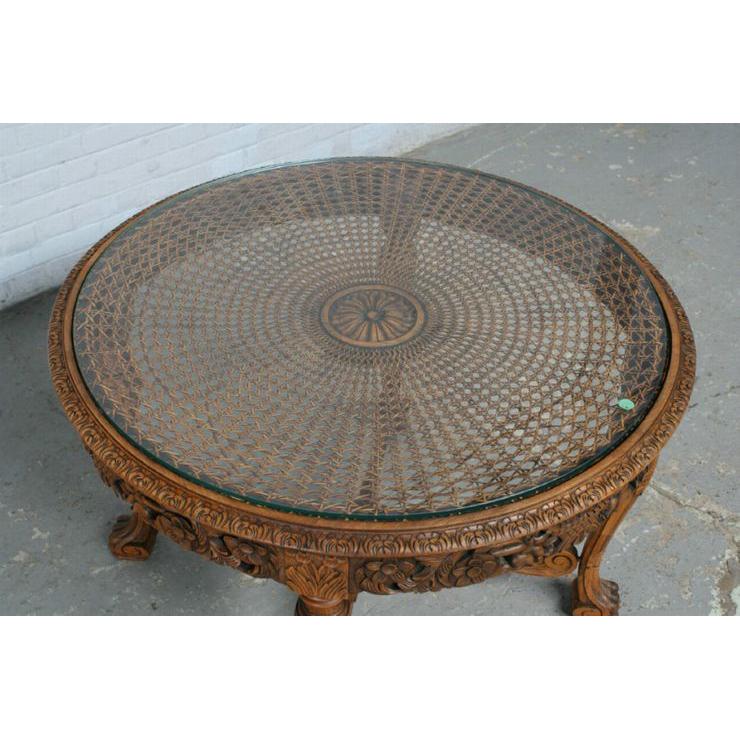#1584 ヨーロッパ市場在庫品 アンティーク家具 コーヒーテーブル 1920年代 フランス原産 ウォールナット製_画像2