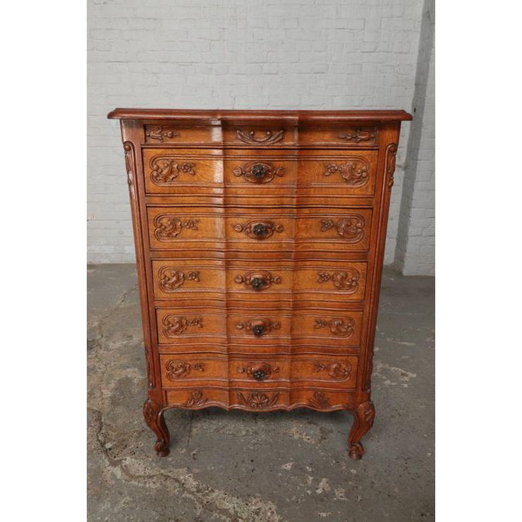 #9342 アンティーク家具 チェスト 1920年代 ベルギー製 オーク 欧州市場 在庫_画像4