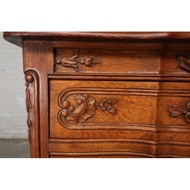 #9342 アンティーク家具 チェスト 1920年代 ベルギー製 オーク 欧州市場 在庫_画像3