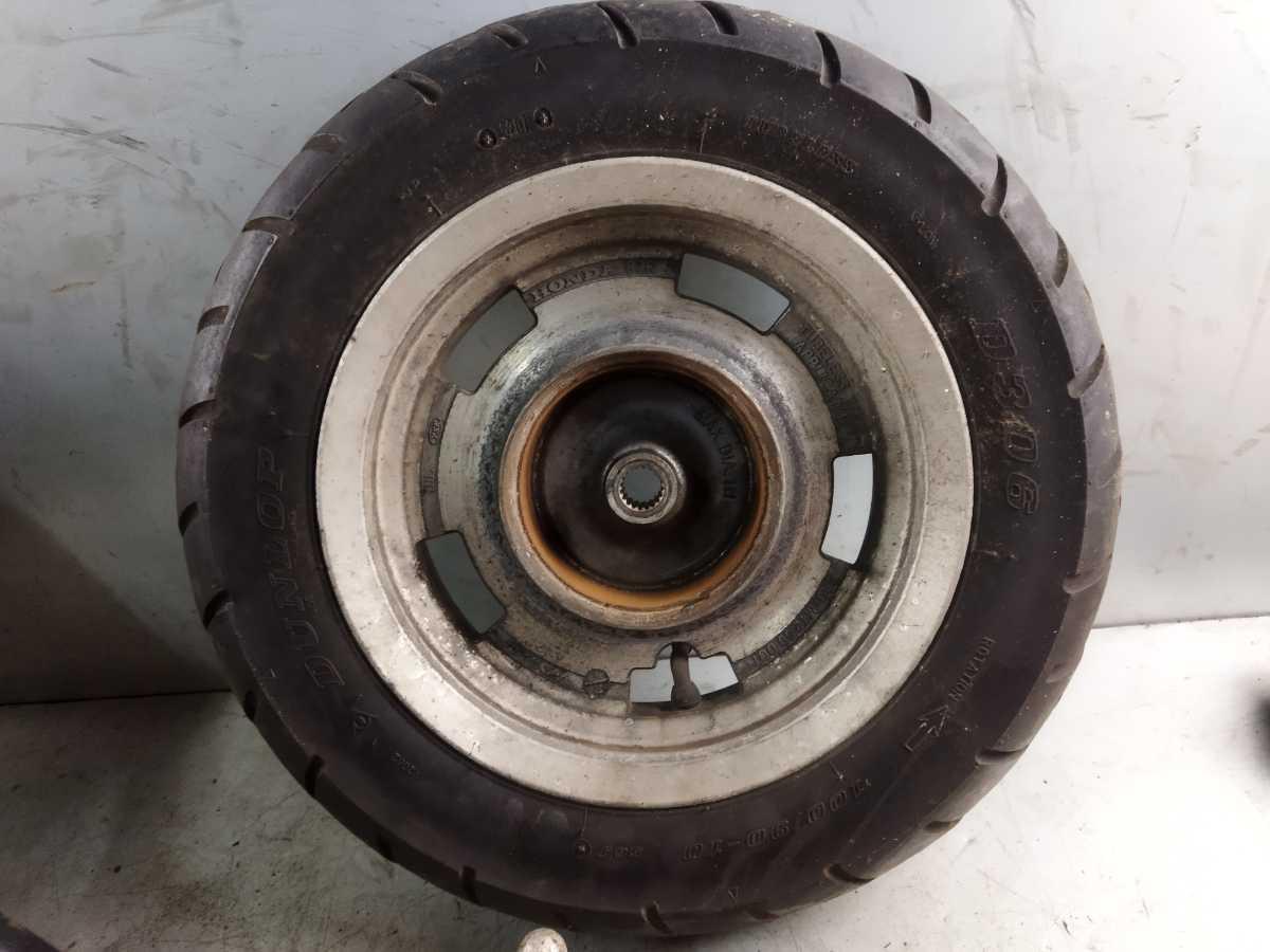 ホンダ ジョーカー50 AF42-100 純正 ホイールセット フロント リア ディスク ジャイロ ズーマー 検索 ジョーカー90 RGA-152A_画像3