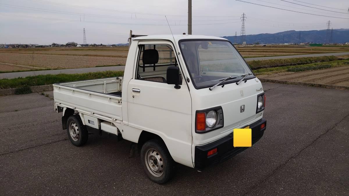 「動画でご説明!石川県から!希少車!旧車!昭和62年(1987年)TNアクティトラック 4WD 5速MT 車検3年4月18日 年代物の割には結構綺麗!走行59000km」の画像1