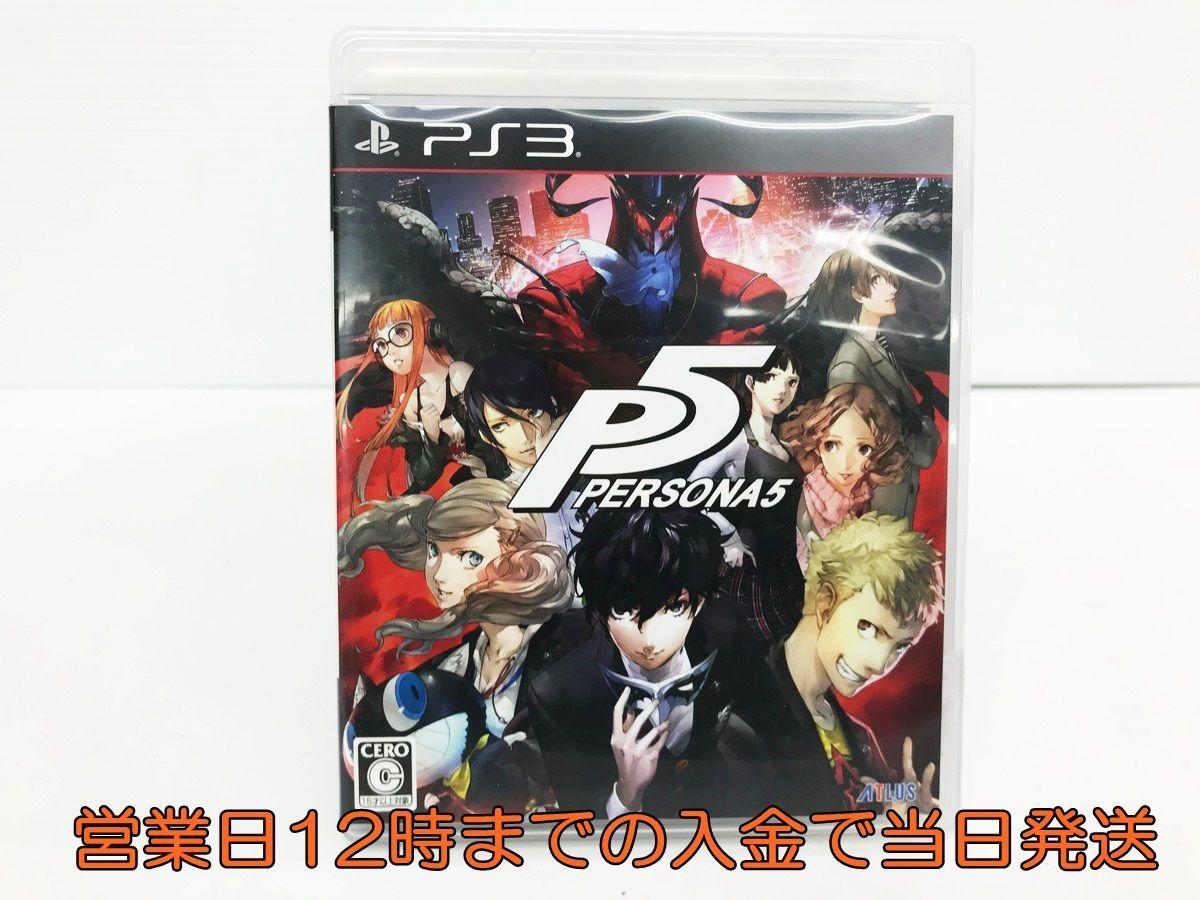 【1円】PS3 ペルソナ5 ゲームソフト 1A0019-164yy/F8