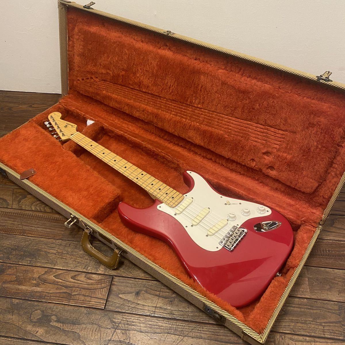 【1988年製】Fender Eric Clapton Stratocaster Torino Red フェンダー エリッククラプト