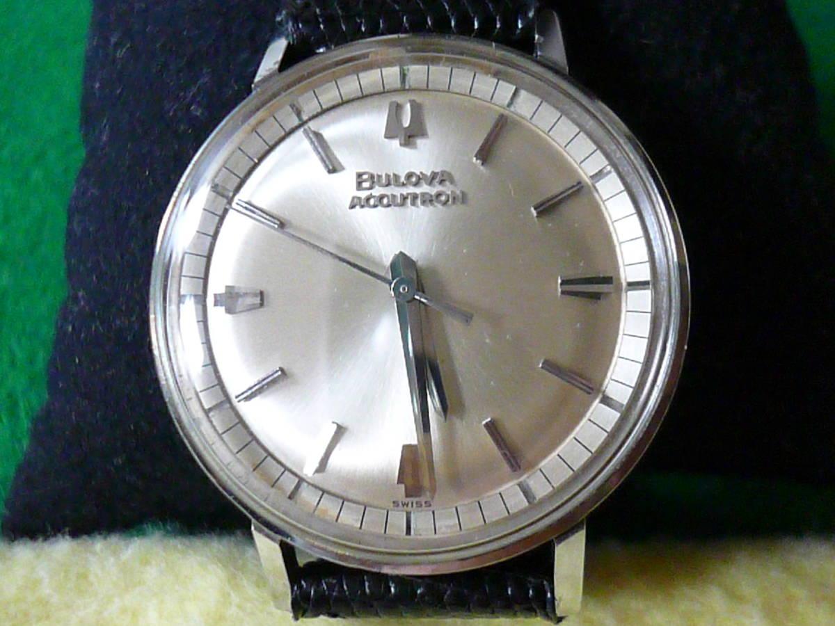 ブローバ アキュトロン音叉時計 ビンテージ稼働品_画像2