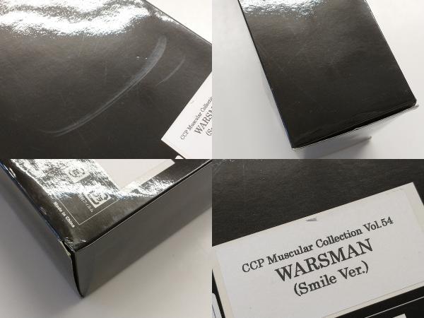 フィギュア CCP ウォーズマン スマイルVer. マスキュラーコレクション Vol.54_箱に傷みやシールの剥がれがあります。
