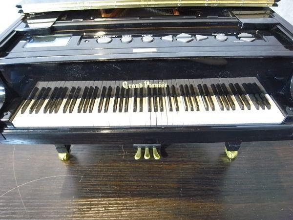 中古品 SEGA セガ グランドピアニスト Grand Pianist 自動演奏 SD アダプタ付 10125_画像7
