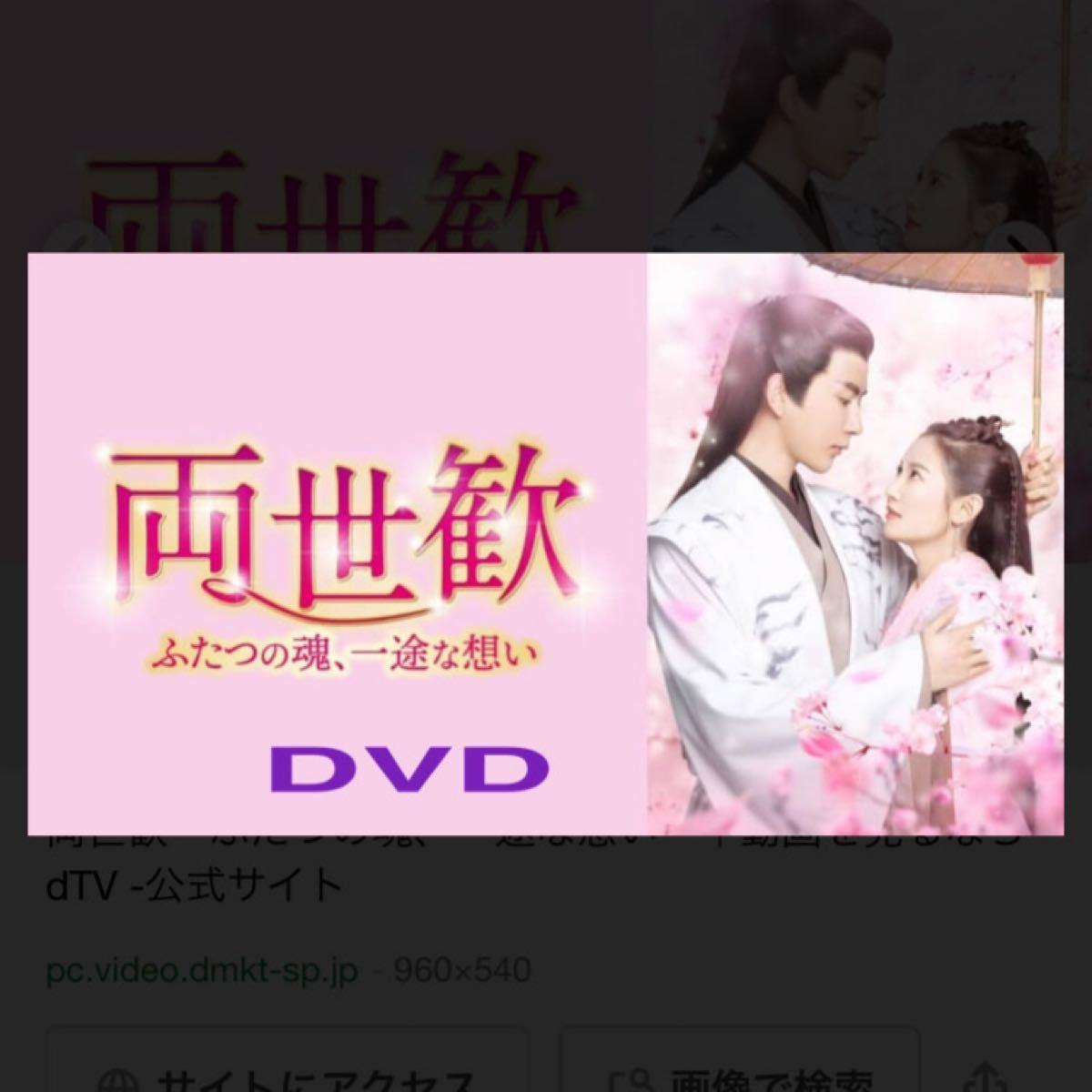 中国ドラマ全話DVD【両世歓】