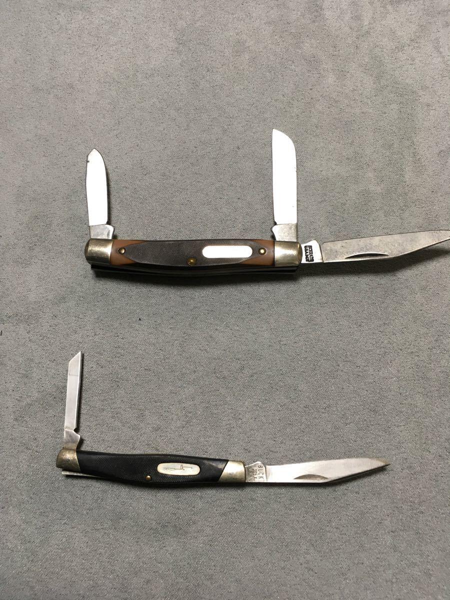 Buck ナイフ その他 計6個