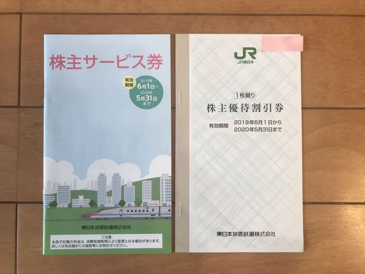 JR東日本 株主優待 割引券 2割引 2021年5月31日有効期限_画像1