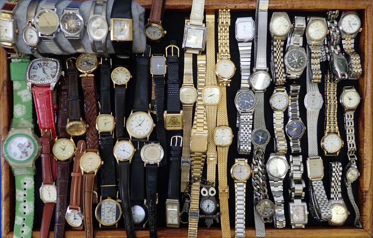 ◎レディース腕時計 大量まとめ ブランド腕時計 自動巻き GUESS FEDE LUCIO ORIENT TECHNOS LANVIN FOSSIL CITIZEN ALBA ORIENT CASIO