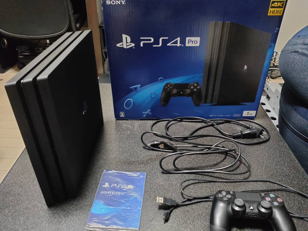 PlayStation4 Pro ジェット・ブラック 1TB CUH-7100BB01 プレイステーション4 プレステ4