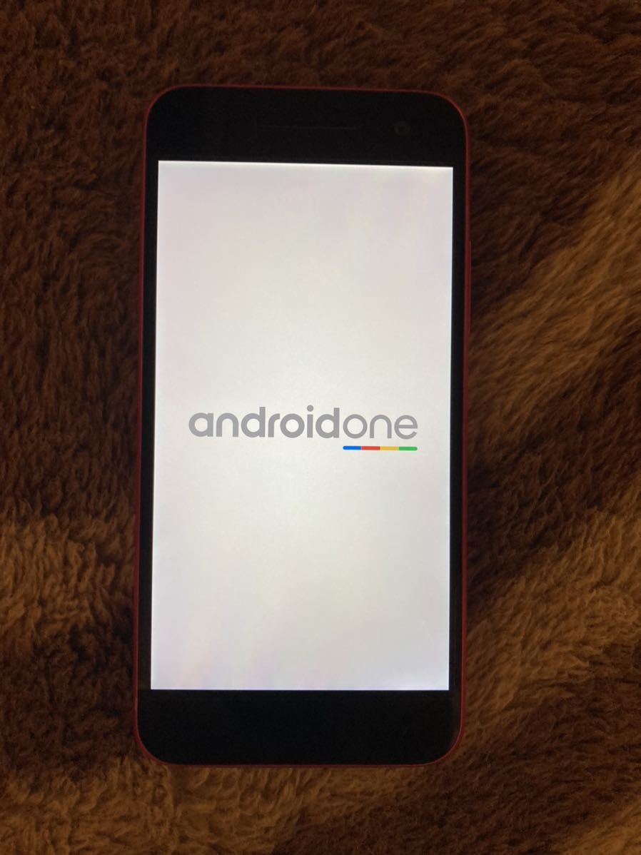 Y!mobile SHARP Android One S1 ピンク_画像1