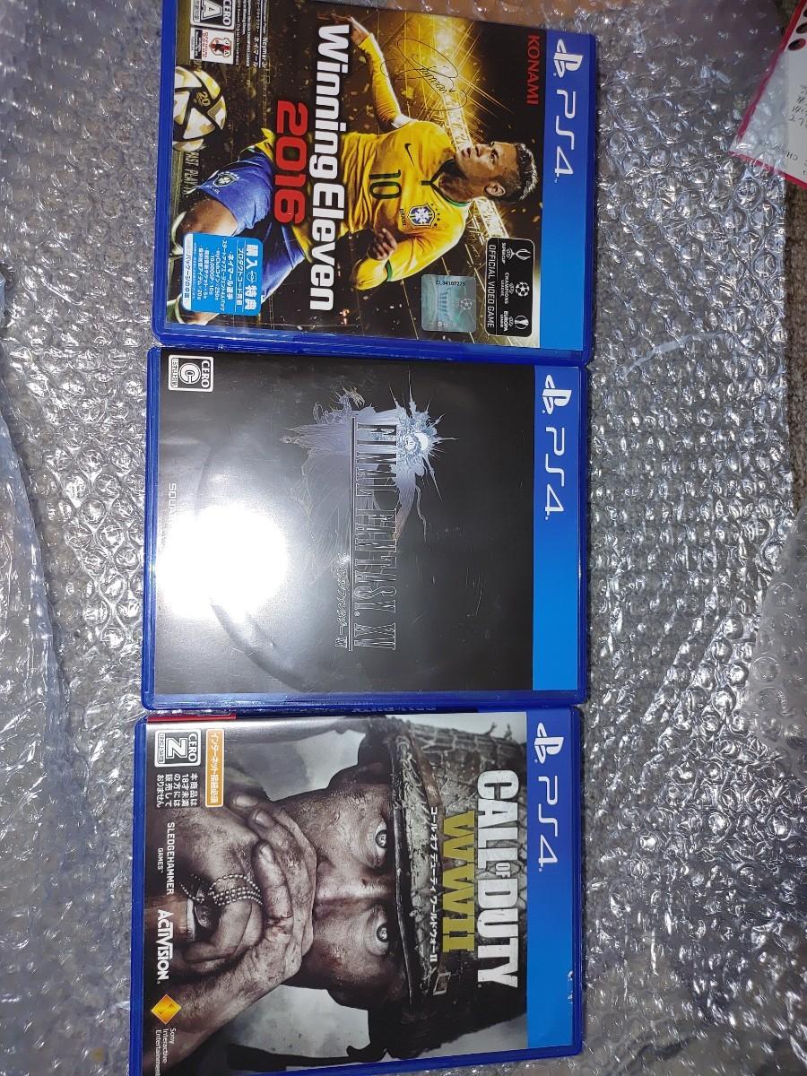 PS4ソフト三点