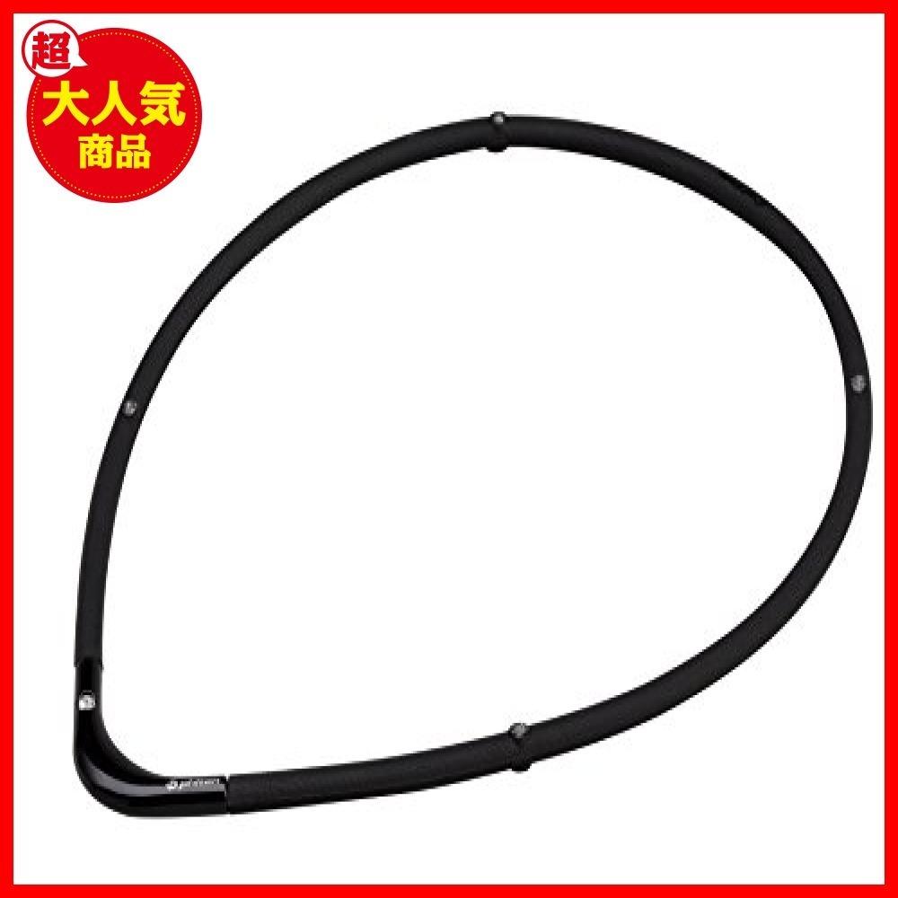 【バーゲン!!】ブラックXブラック 55cm ファイテン(phiten) ネックレス RAKUWA 磁気チタン2402180_画像1