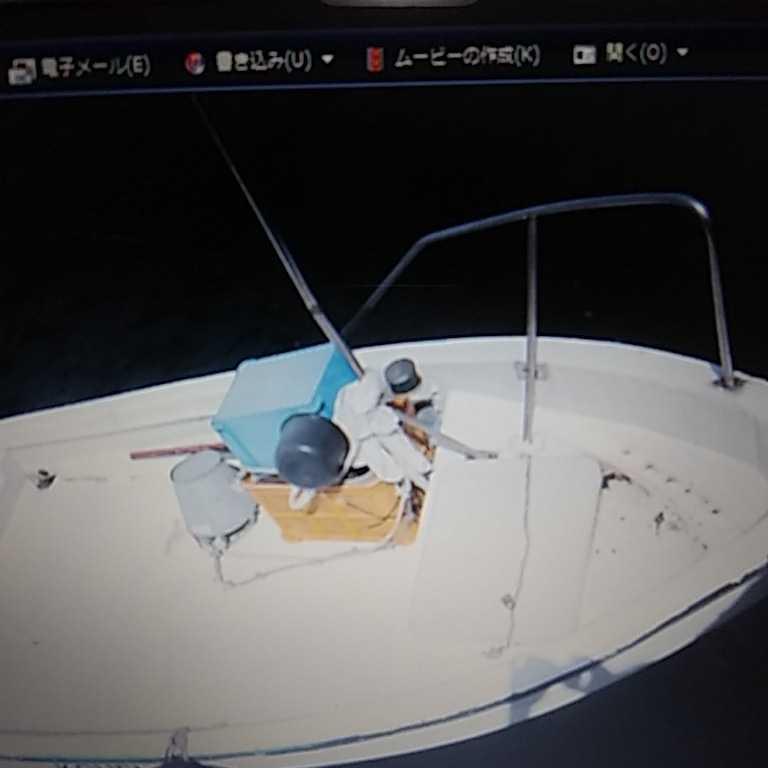 「船 ヤマハ4スト9.9 大分県別府市 引き取り限定」の画像2