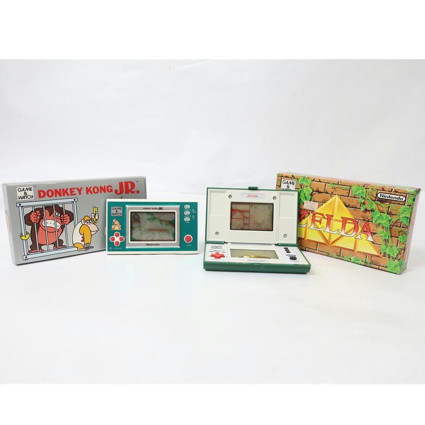 1円【ジャンク】 Nintendo 任天堂 ゲームウォッチ 2台セット DJ-101/ZL-65 【65】