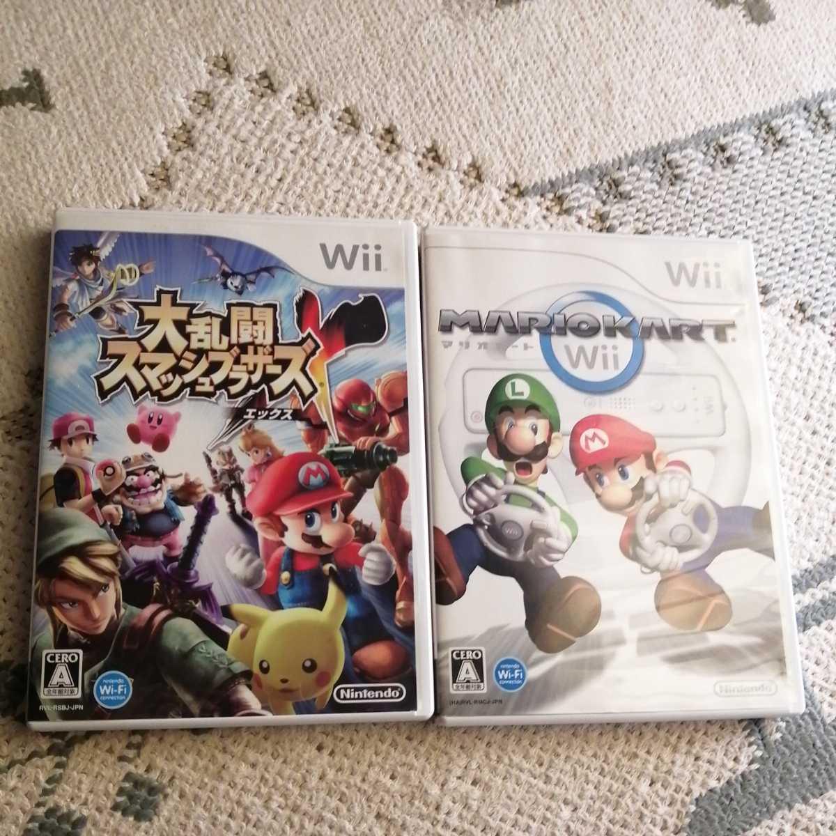 Wii 大乱闘スマッシュブラザーズX マリオカート