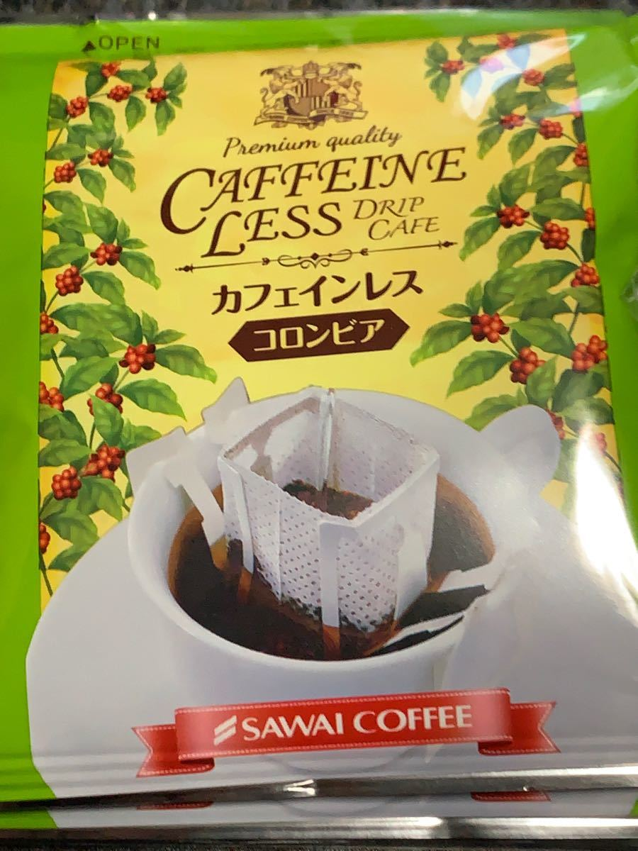 ドリップコーヒー 澤井珈琲 カフェインレス 5袋