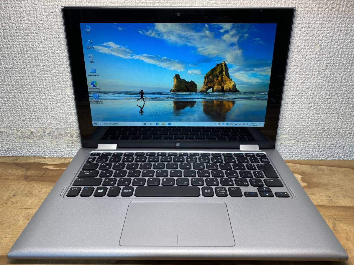 WIN10 DELL INSPIRON 11 3000 3147 2 in 1 N3540 2.16GHz 4G 500G HD Graphics OFFICE 2013搭載 東京即日発送