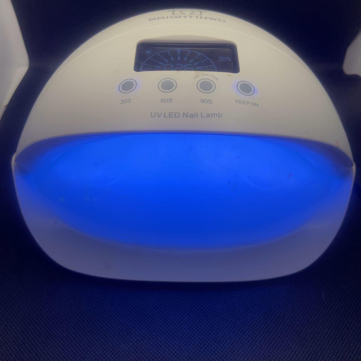 UVLEDランプ  タイマー機能  ネイルアート レジン硬化