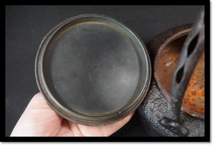 鉄瓶 煎茶道具 茶瓶 茶室 むらし銅蓋 急須_画像6
