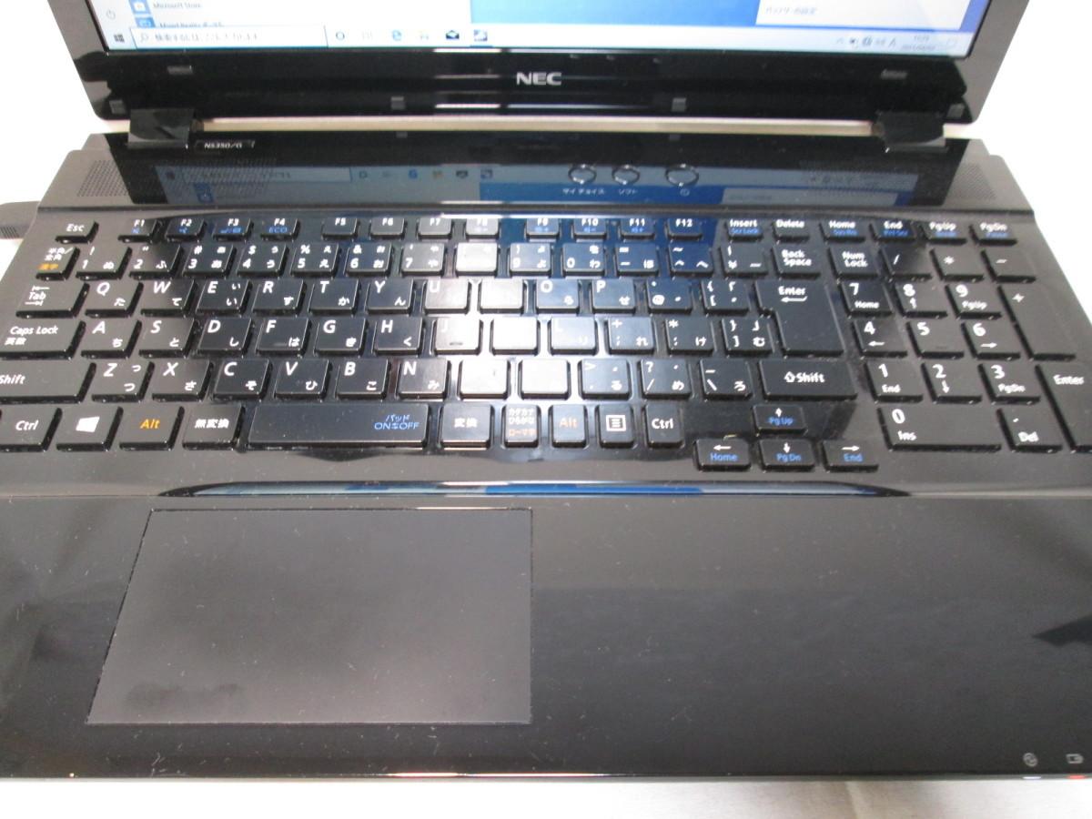 NEC LAVIE Note Standard NS350/GAB Core i3 7100U 2.4GHz 4GB 1TB 15.6インチ DVD作成 ブルーレイ Win10 64bit Office Wi-Fi HDMI [78936]_画像2