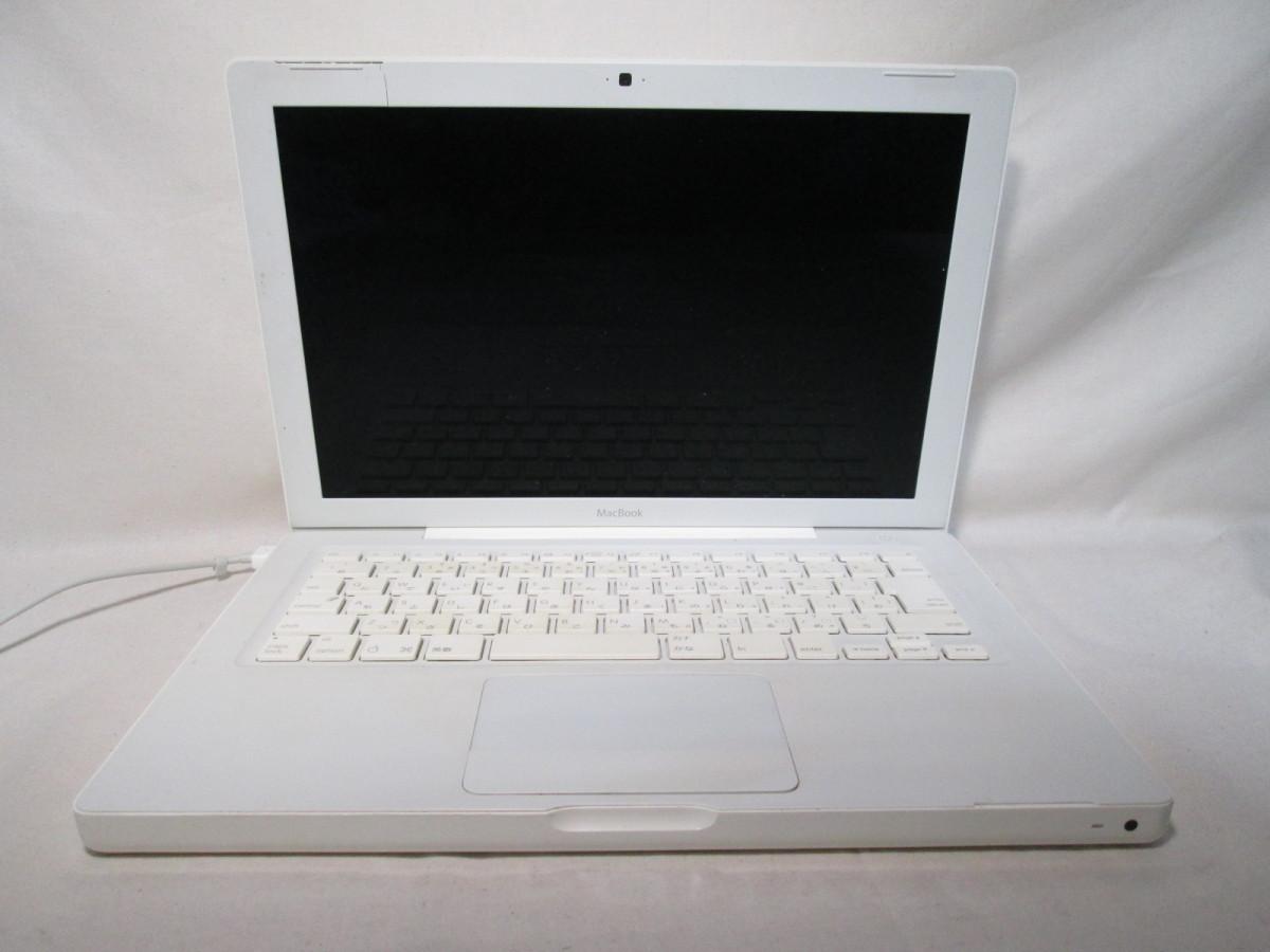 Apple MacBook A1181 80GB 13インチ ジャンク [79046]_画像1
