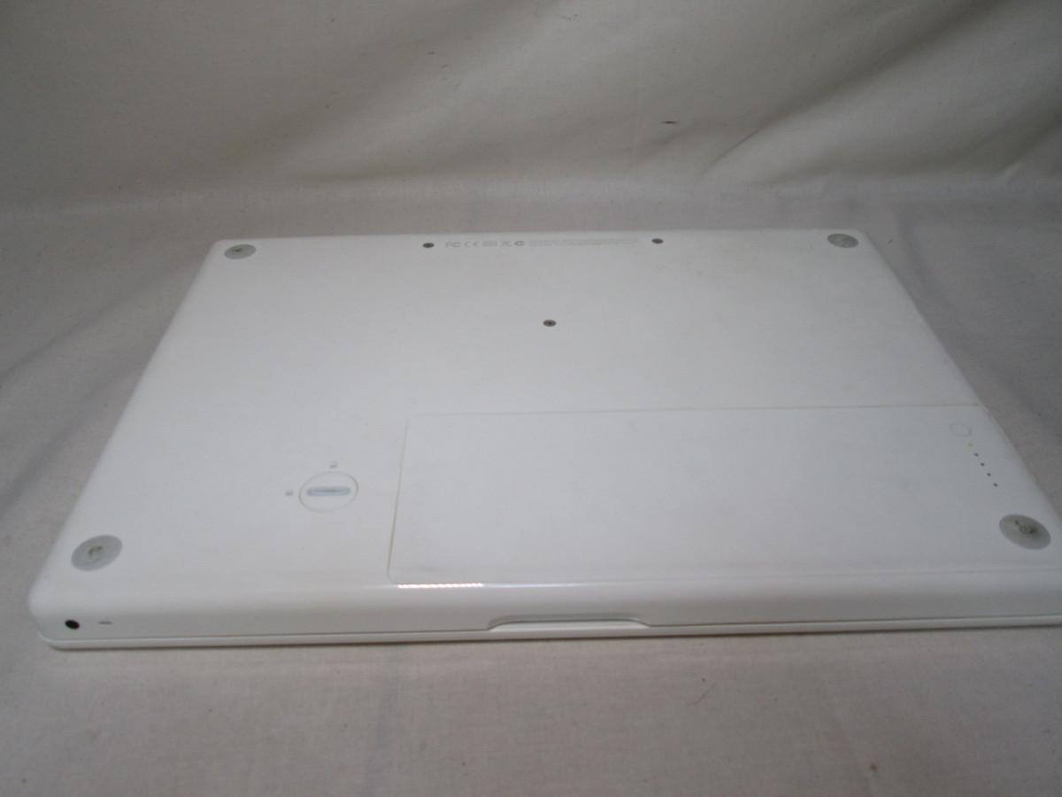 Apple MacBook A1181 80GB 13インチ ジャンク [79046]_画像7