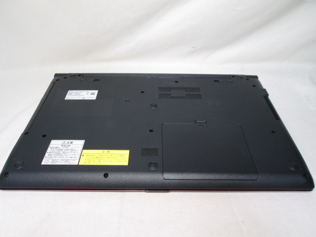 NEC LAVIE Note Standard NS150/FAR Celeron 3855U 1.6GHz 4GB 1TB 15.6インチ DVD作成 Win10 64bit Office USB3.0 Wi-Fi HDMI [79072]_画像7
