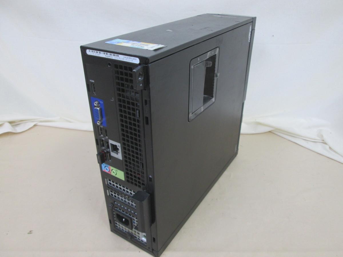 DELL OptiPlex 3010 Core i3 3240 3.4GHz 4GB 250GB DVD作成 Win10 64bit Office Wi-Fi HDMI [79109]_画像2